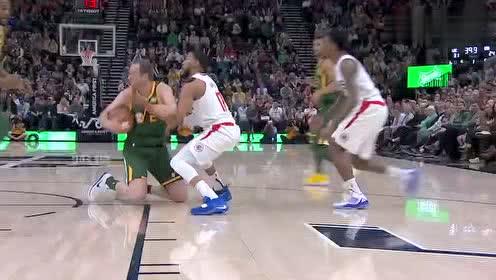 2019年02月28日NBA常规赛 快船VS爵士 全场录像回放视频