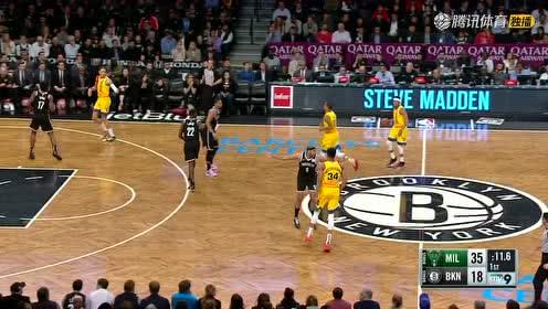 2019年04月02日NBA常规赛 雄鹿VS篮网 全场录像回放视频