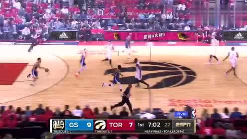 2019年NBA总决赛G2第二场 勇士VS猛龙 全场录像回放视频