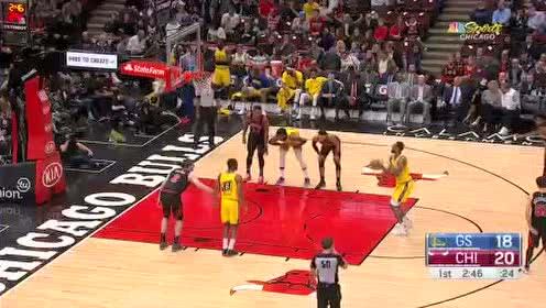 2019年12月07日NBA常规赛 勇士VS公牛 全场录像回放视频