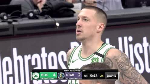 2020年02月27日NBA常规赛 凯尔特人VS爵士 全场录像回放视频