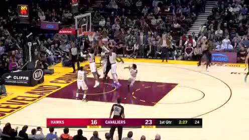 2020年02月13日NBA常规赛 老鹰VS骑士 全场录像回放视频