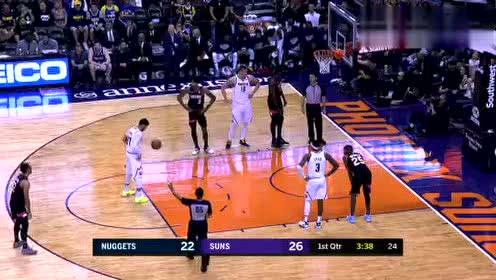 2020年02月09日NBA常规赛 掘金VS太阳 全场录像回放视频