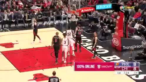 2020年02月23日NBA常规赛 太阳VS公牛 全场录像回放视频