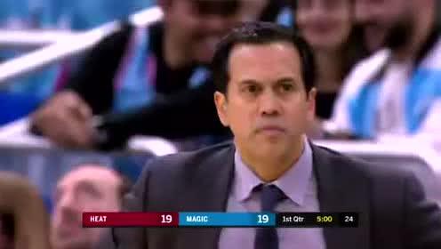 2020年02月02日NBA常规赛 热火VS魔术 全场录像回放视频