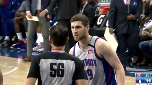 2020年03月12日NBA常规赛 活塞VS76人 全场录像回放视频
